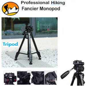 Yunteng-668 Professional Hiking Fancier Monopod Tripod For Camera Camcorder DV