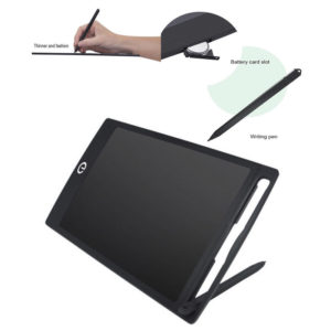 """LCD e-Writer Tablet Writing Drawing Memo Message Black Boogie Board 12"""" UK"""
