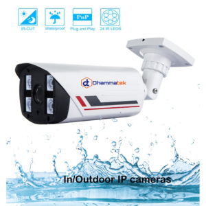 High Quality CCTV Camera Bullet 16mm optional Waterproof In/Outdoor IP cameras