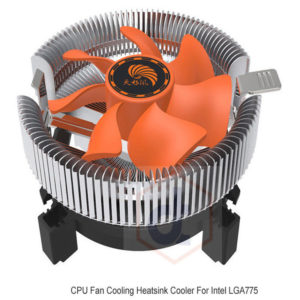 2200 rpm CPU Quiet Fan Cooling Heatsink Cooler For Intel LGA775 1155 AMD AM2 3