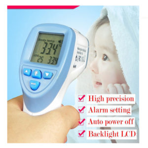 Non-Contact IR Infrared Digital Thermometer Forehead Baby Adult Body Care