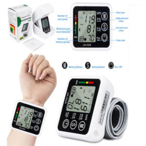 2018 Automatic Digital Blood Pressure Monitor Meter Intelligent Wrist 99 Memory