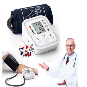 2018 Digital Blood Pressure Monitor With Voice function Intelligent 99 Memory UK