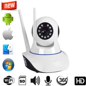 YY HD INTELLIGENT CAMERA IP WiFi CCTV Home Security with WiFi Audio