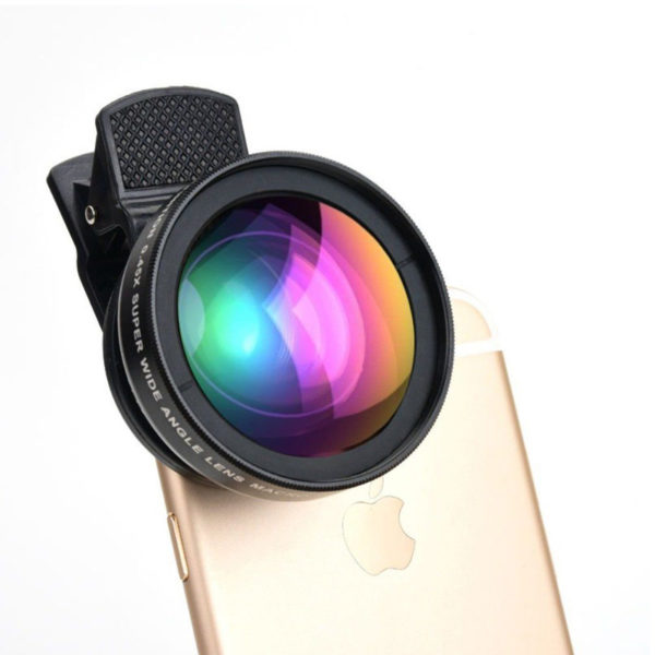 37MM 0.45x Wide Angle Macro Lens Conversion Lens for Camera Camcorder With Bag