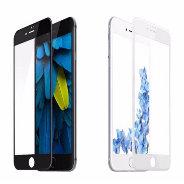 Premium High Quality 3D Tempered Glass Screen Protector For Apple iPhone 7 Plus.