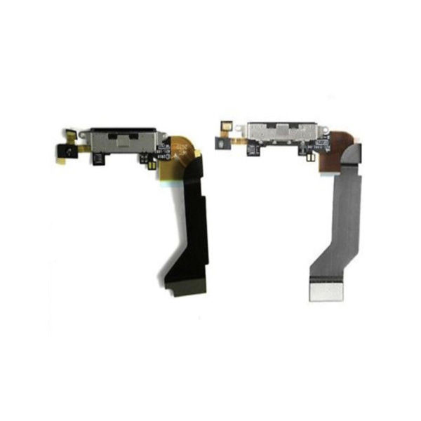 Replacement Black Dock Connector Charging Port & Microphone For iPhone 4S