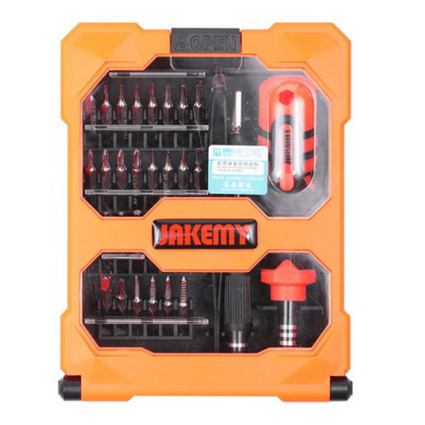 JAKEMY JM-8160 Screwdriver Extension Bar Tools Set For Iphone PC Repair 33 Pcs