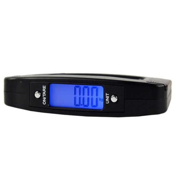 50kg Portable Hanging Digital Electronic Travel Luggage Weighing Scales LCD