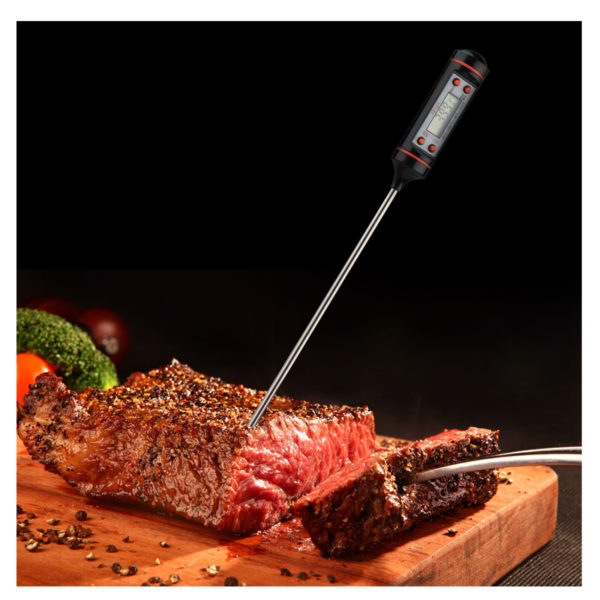 Digital Food Thermometer Meat Turkey BBQ Kitchen Catering Cooking Probe