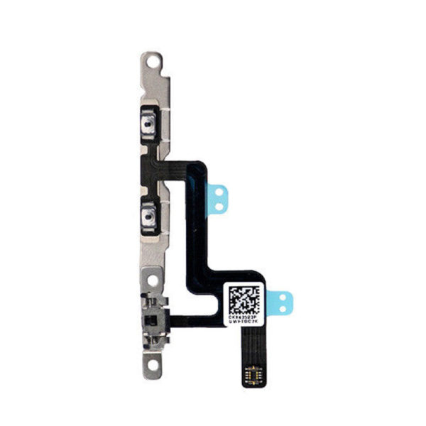 For iPhone 6 Volume Buttons Flex Cable & Mute Switch With Brackets Replacement