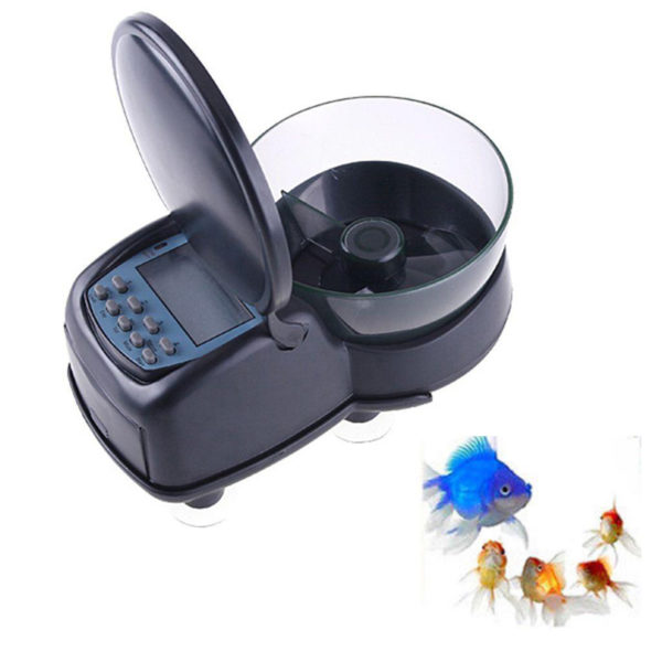 Digital Automatic Aquarium Auto Fish Tank Food Feeder Feeding Timer