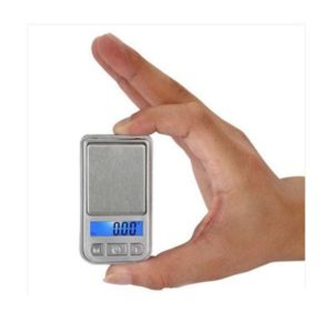 Pocket Digit Scales Jewellery Gold Weighing Mini LCD Electronic 01g 200g(Silver)
