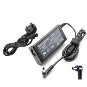 HP Laptop Adapter Charger 740015-003 741727-001 19.5V 2.31A 60W UK Power Cord