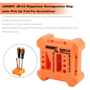 JAKEMY JM-X2 Magnetizer Demagnetizer Tool Screwdriver Magnetic Pick Up Tool