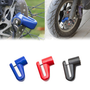 Heavy Duty Motorbike Motorcycle Bike Scooter Disk Lock Padlock + Keys Security