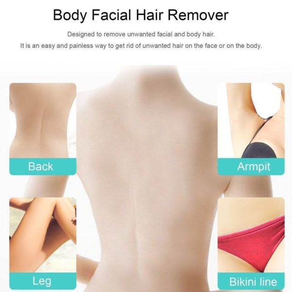 Flawless Skin Women Painless Hair Remover Face Facial Hair Removal Epilator