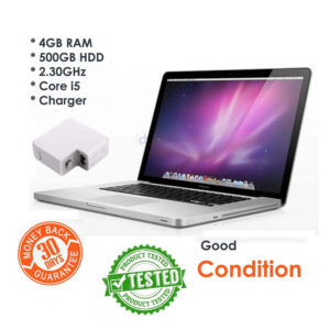 "Apple MacBook Pro 13"" laptop Core i5 2.30GHz 4GB RAM 500GB HDD A1278 Early 2011"