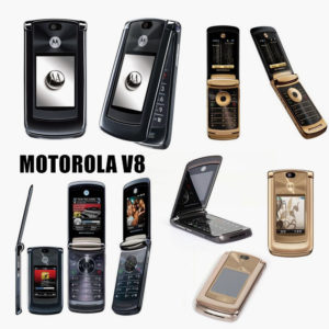 Motorola V8 2GB Gold, Black Unlocked