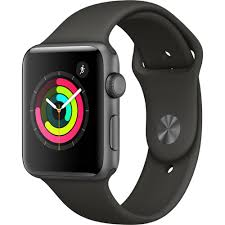 Apple Watch Series 3 38mm 42mm Aluminium Case Sport Band