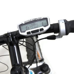 New Computer Bicycle Bike  Odometer  Speedometer LCD Backlight Digital Cycling