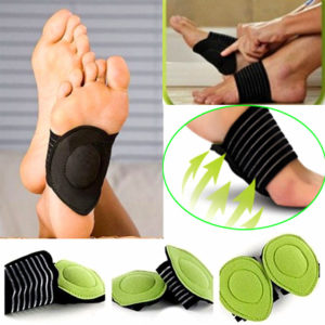 Arch Support For Flat Feet Foot Fallen Fasciitis Plantar Insole Heel Pain Relief