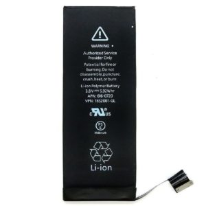 Internal Replacement 1560mAh Li-ion Battery  For Apple iPhone 5S / 5C Black