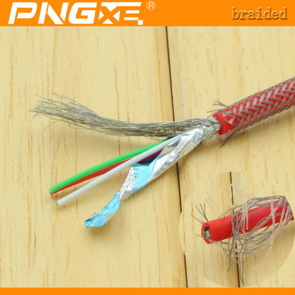 PNG Fishnet Lightning Sync Data Cable USB Charger iPhone & iPad
