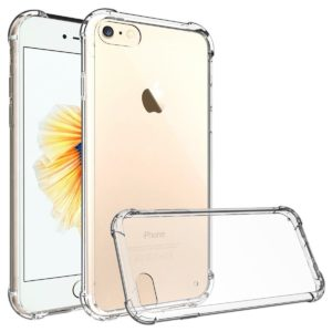 iPhone Shock Proof Crystal Clear Soft Silicone Gel Bumper Cover Ultra Slim